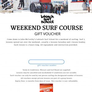 week end surf course
